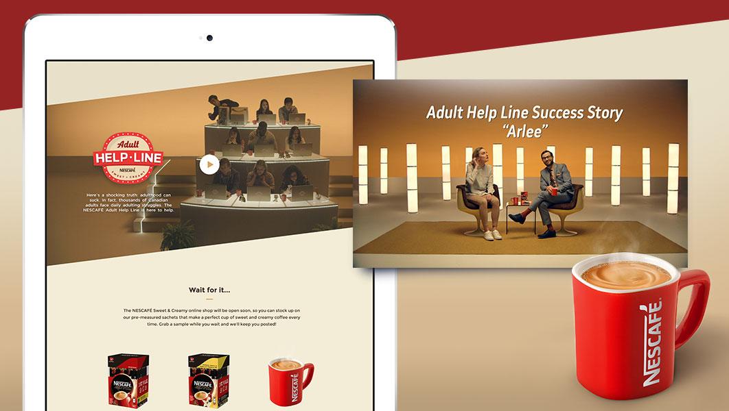 Nescafe Adult Helpline Image 2