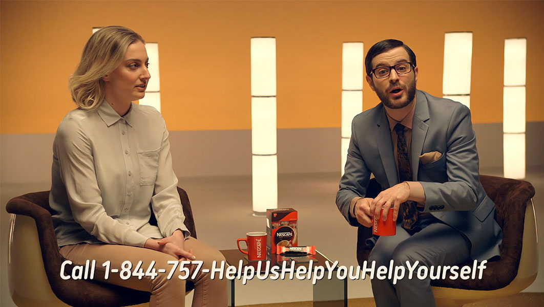 Nescafe Adult Helpline Image 3