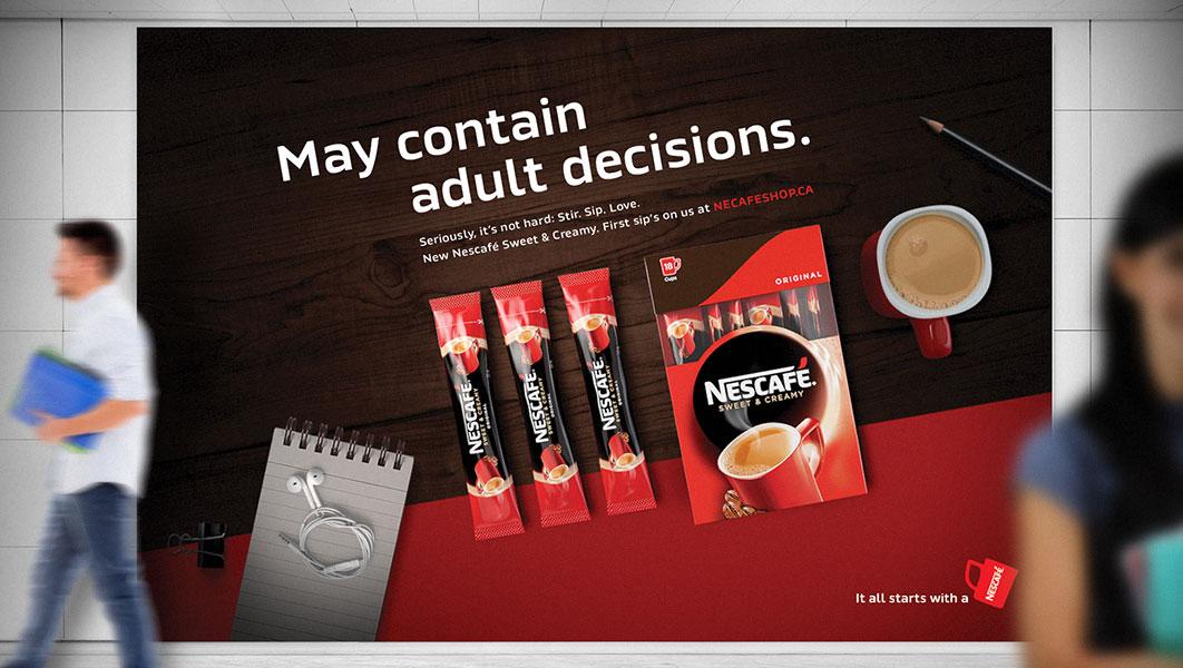 Nescafe Adult Helpline Image 4